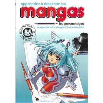 dessin manga livre