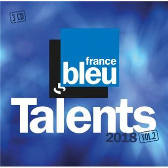 Talents France Bleu 2018 Volumes 2 Coffret Inclus CD bonus