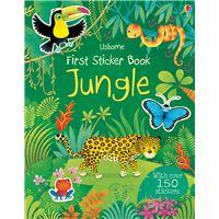 First Sticker Book Jungle