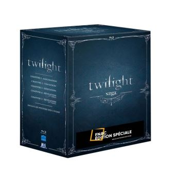 TwilightTwilight L'Intégrale 5 films Blu-ray