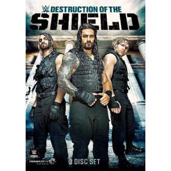Destruction of The Shield DVD