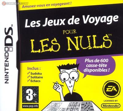 Jeux de Voyage pour les nuls - Nintendo DS