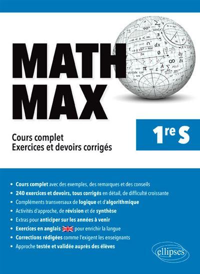 Math Max 1ère S