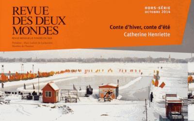 Revue des deux mondes HS octobre 2014. Prix de photographie Marc Ladreit de Lacharrière- Académie des beaux-arts