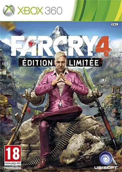 Far Cry 4 Edition Limitée Xbox 360 - Xbox 360
