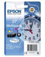 Epson Cartouches d´encre Epson Série Réveil 27, Multipack 3...