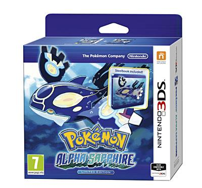 Pokemon Saphir Alpha 3DS + Steelbook Edition Limitée - Nintendo 3DS
