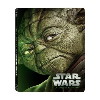 Star WarsStar Wars Episode 2 : L'attaque des clones - Blu-ray Pack Métal Edition Collector limitée