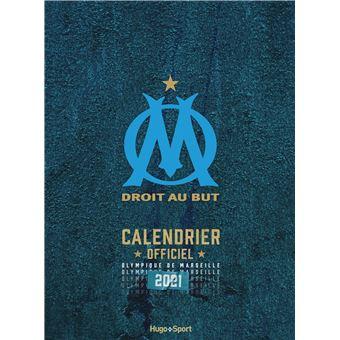 Calendrier mural Olympique de Marseille 2021   broché   Collectif