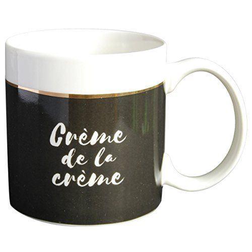 Mug Black & Gold Crème de la crème