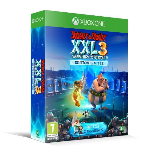 Astérix et Obélix XXL 3 Le Menhir de Cristal Edition Limitée Xbox One