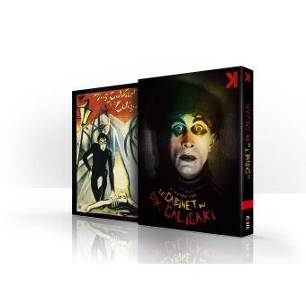 Coffret Le cabinet du Dr Caligari  + De Caligari à Hitler Combo Blu-ray DVD