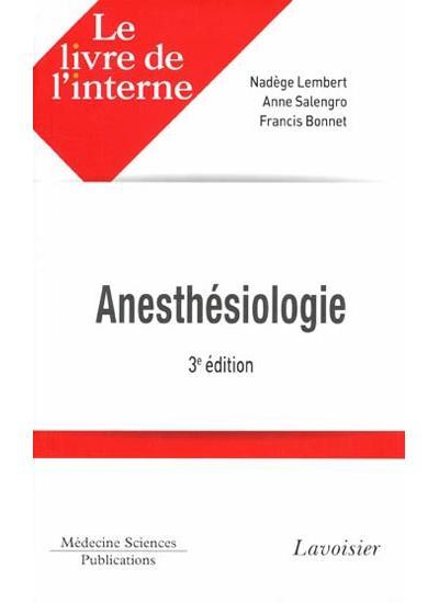 Le livre de l'interne anesthes