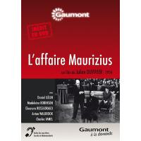L'Affaire Maurizius DVD