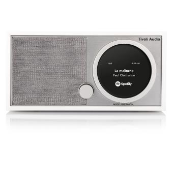 Radio Tivoli Audio Model One Digital Blanche et Grise