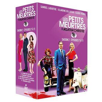 Les petits meurtres d'Agatha ChristieCoffret Les petits meurtres d'Agatha Christie Episodes 7 à 11 DVD