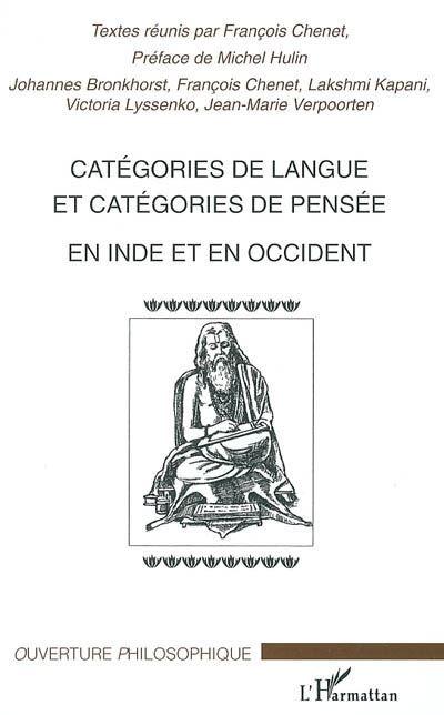 Catégories de langue et catégories de pensée