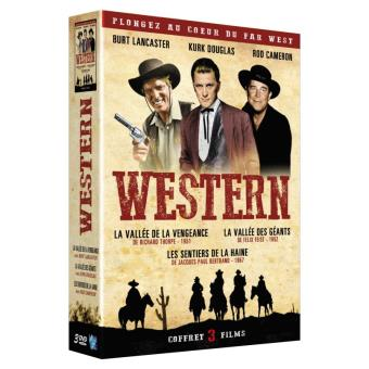 Coffret Western 3 films DVD