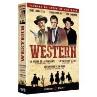 Coffret Western 3 films DVD