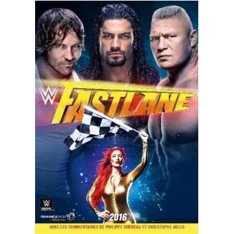 WWE Fastlane 2016 DVD