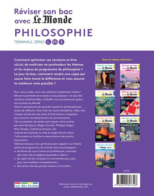 Reviser Son Bac Avec Le Monde Philosophie 2018 Edition 2018 Broche Collectif Achat Livre Fnac