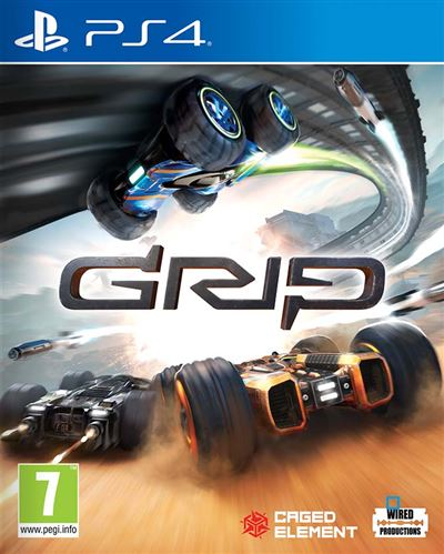 GRIP : Combat Racing PS4