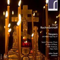 RACHMANINOV VESPERS ALL NIGHT VIGIL OP37