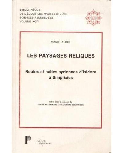 Paysages reliques - Peeters