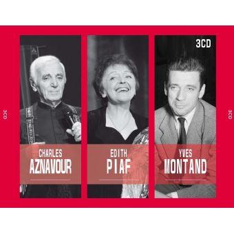 Aznavour Piaf Montand Coffret