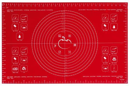 Feuille à pâtisserie Mastrad 62 x 40 cm Rouge