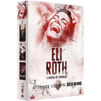 Eli roth green inferno/the clown/aftershock