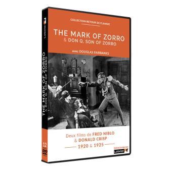 The Mark of Zorro, Don Q, son of Zorro DVD