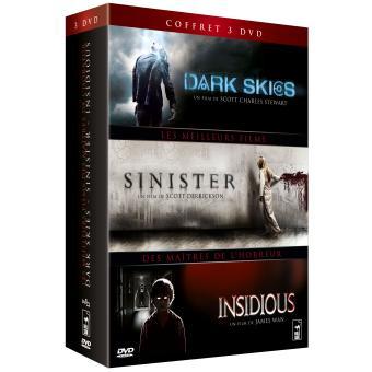 InsidiousDark Skies - Insidious - Sinister Coffret 3 DVD