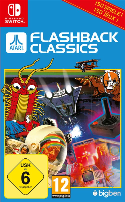 Atari Flashback Classics Nintendo Switch