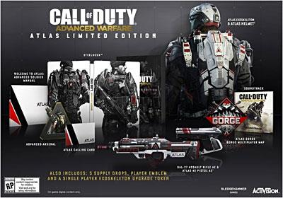 Call Of Duty Advanced Warfare Atlas Limité Edition PS4 - PlayStation 4