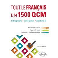 Tout le français en 1500 QCM