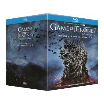 Game of thrones box BLU RAY 1-8 -BIL