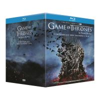 Game of thrones box BLU RAY 1-8 -BIL