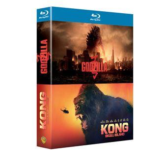 King KongCoffret : Kong : Skull Island - Godzilla Blu-ray