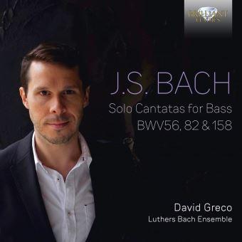Cantates pour basse seule BWV 56, 82 et 158