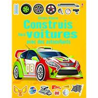 Construis tes voitures avec des autocollants