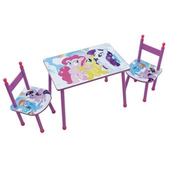 Table avec 2 chaises Fun House My Little Pony