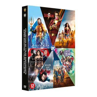 DC animatedCoffret DC Comics L'intégrale DVD