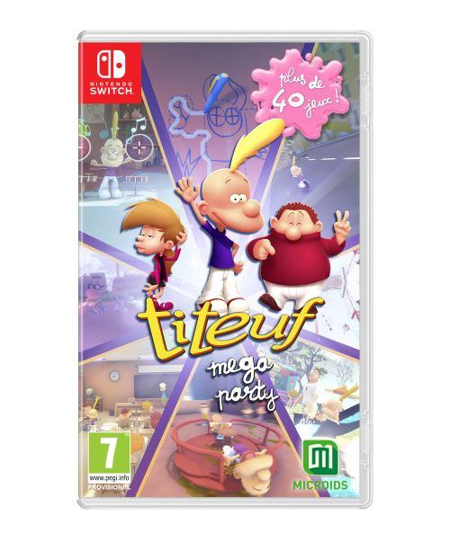 Titeuf Mega Party Nintendo Switch