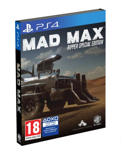 Mad Max Ripper Special Edition PS4