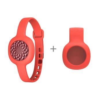 Bracelet Jawbone Up Move Ruby Rose + Strap Slim Rouge
