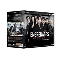 Coffret Engrenages Saison 1 à 8 DVD