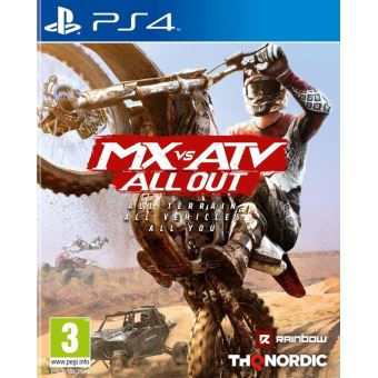 MX VS ATV -  ALL OUT FR/NL PS4