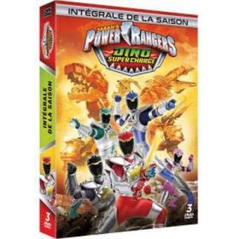 Power rangersPower Rangers Dino Super Charge Saison 1 DVD