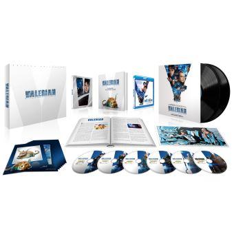 Valérian et LaurelineValérian et la Cité des Mille Planètes Coffret Edition Limitée Steelbook Blu-ray 4K + 3D + 2D + DVD